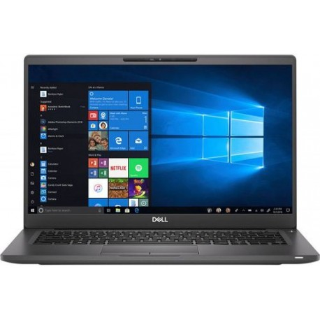 Laptop Dell Latitude 7400, 14inch FHD, Negru
