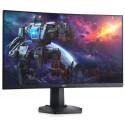 Monitor Gaming VA LED Dell 27inch S2721HGF, Full HD (1920 x 1080), HDMI, DisplayPort, Ecran curbat, 144 Hz (Negru)